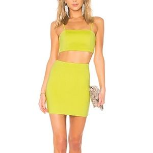 REVOLVE Matisse Cami Set in Chartreuse